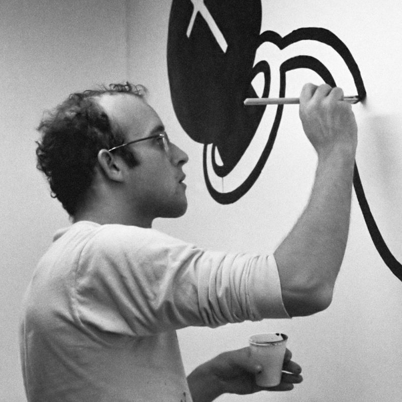 Keith Haring Poster 1983 Montreux Jazz Festival