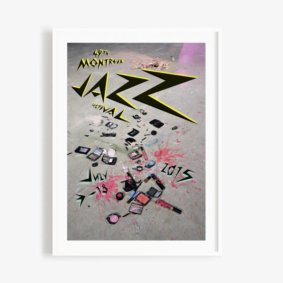 Poster Sylvie Fleury 2015 Montreux Jazz Festival