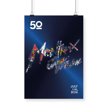 Poster Giovanni Riva 2017 Montreux Jazz Festival