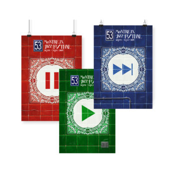 Poster Ignasi Monreal 2019 Montreux Jazz Festival