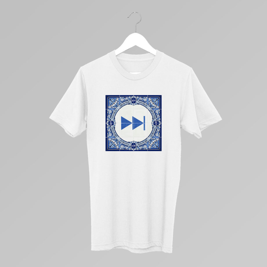 T-Shirt Forward Bleu Ignasi Monreal 2019 Montreux Jazz Festival