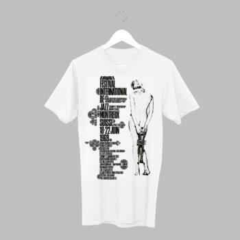 T-Shirt Eric Wondergern, 1969 / Collection Vintage