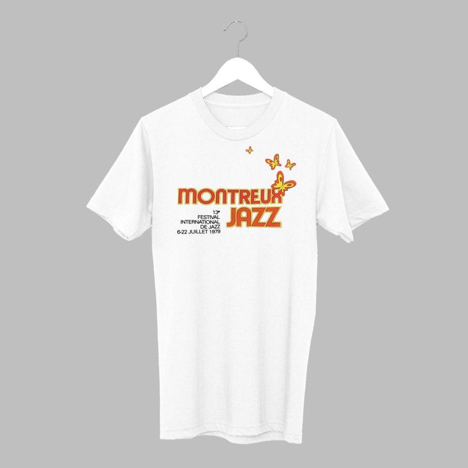 T-Shirt Marco Antonio Batan 1979 Collection Vintage Montreux Jazz Festival