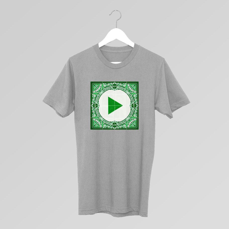 T-Shirt Play Gris Ignasi Monreal 2019 Montreux Jazz Festival
