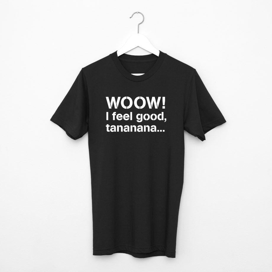 T-Shirt James Brown Collection Legends Noir Montreux Jazz Festival