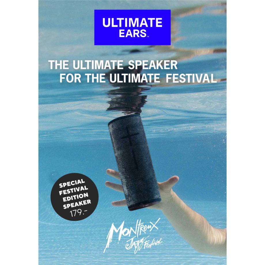 Accessoire musique Ultimate Ears Limited Edition 2019 Montreux Jazz Festival