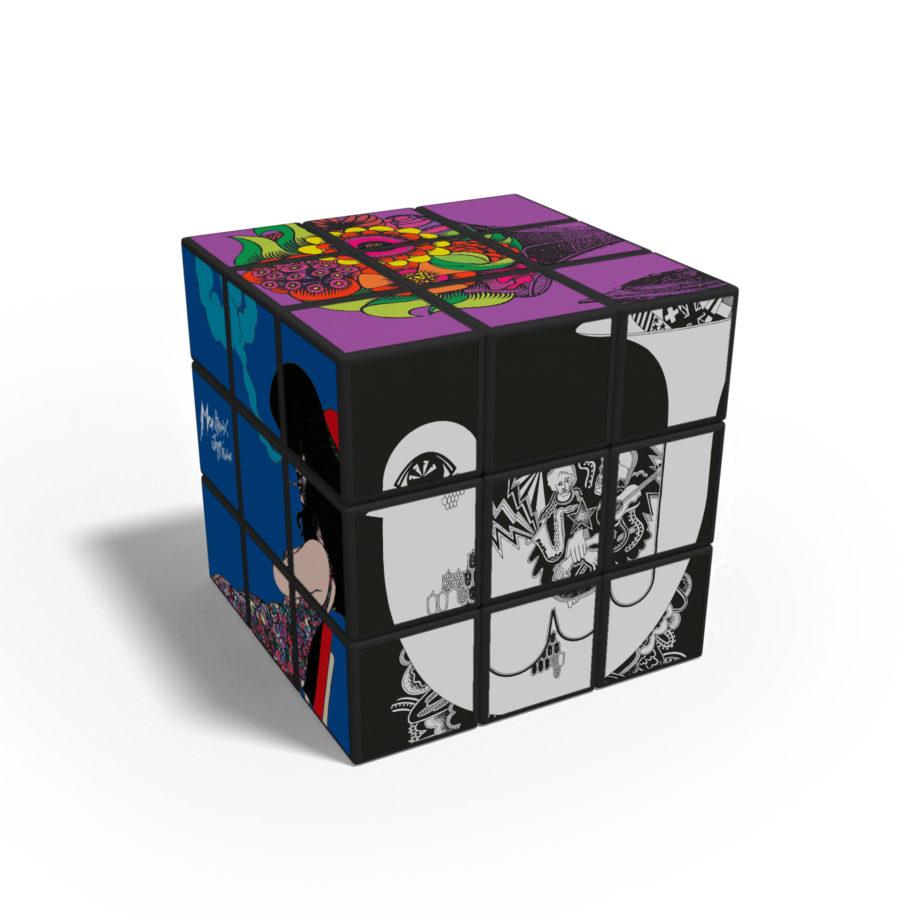 Rubik's Cube Affiches Montreux Jazz Festival