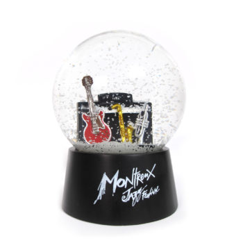 Boule à neige Noir Montreux Jazz Festival