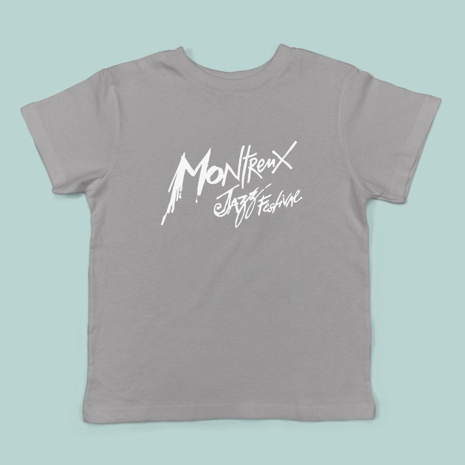 T-Shirt Gris Enfant Montreux Jazz Festival