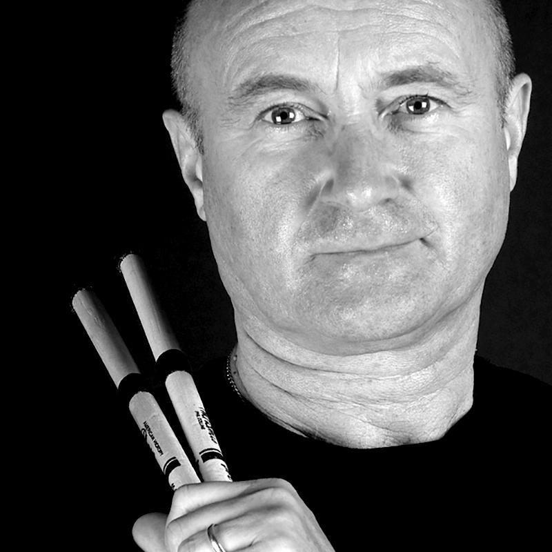 Phil Collins Poster 1998 Montreux Jazz Festival