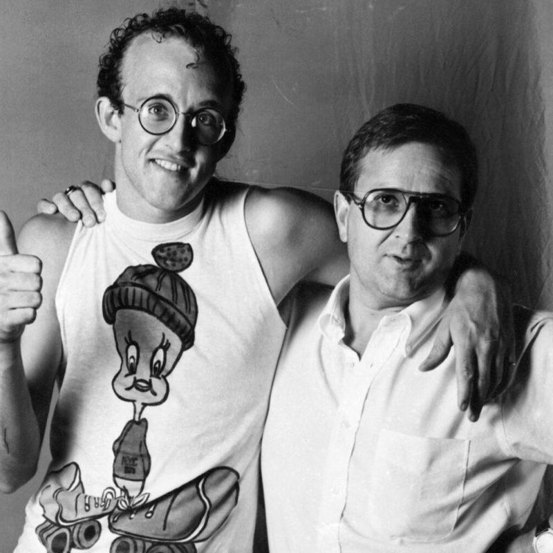 Pierre Keller & Keith Haring Montreux Jazz Festival