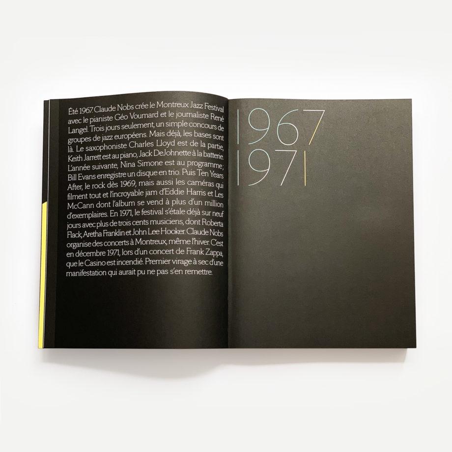 Livre 50 Summer of Music Montreux Jazz Festival