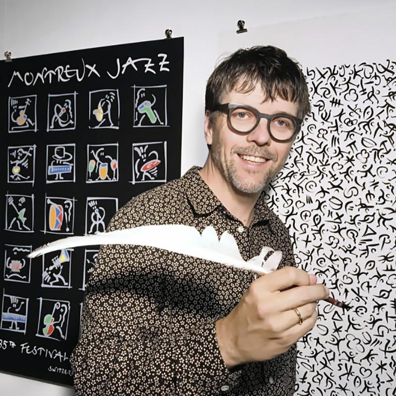 Matthias Winkler 2001 Montreux Jazz Festival