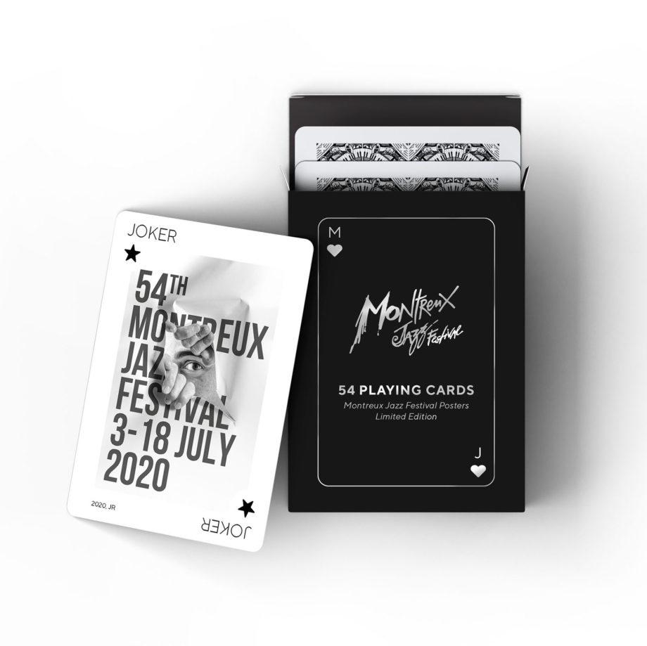 Jeu de cartes Playing Cards Posters Montreux Jazz Festival