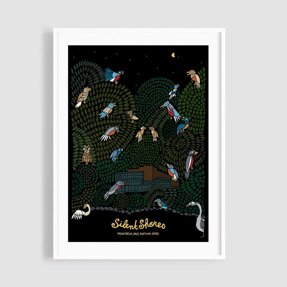 MJF20 Silent Shores 50x70 Frame - Albin Christen