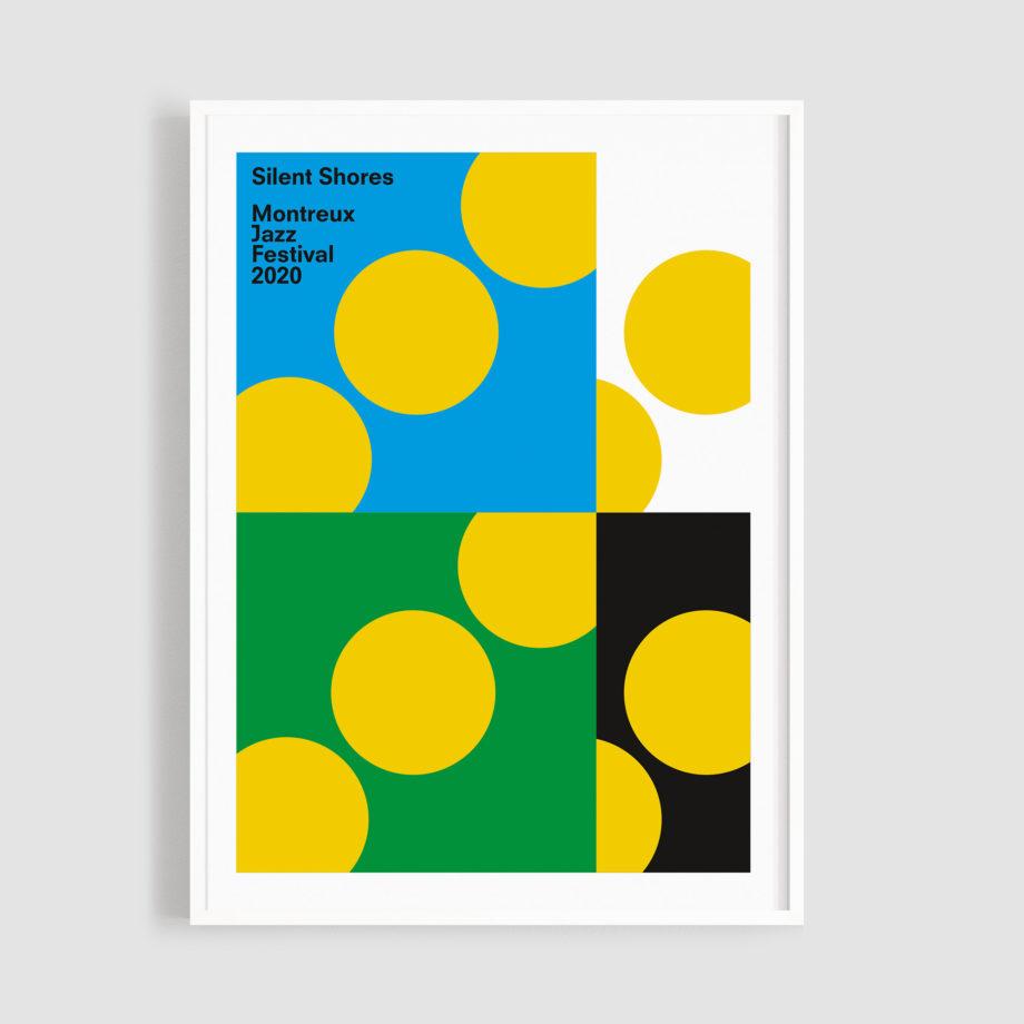 MJF20 Silent Shores 50x70 Frame - Francis Baudevin