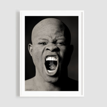 MJF20 Silent Shores 50x70 Frame - Greg Gorman