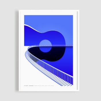MJF20 Silent Shores 50x70 Frame - Malika Favre