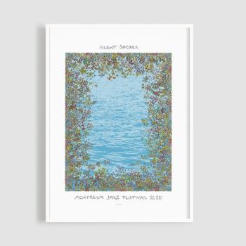 MJF20 Silent Shores 50x70 Frame - Matthias Winkler