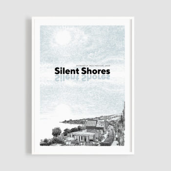MJF20 Silent Shores 50x70 Frame - Oscar Oiwa