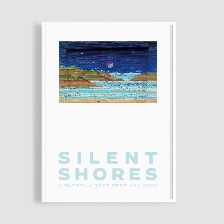 MJF20 Silent Shores 50x70 Frame - Richard James North