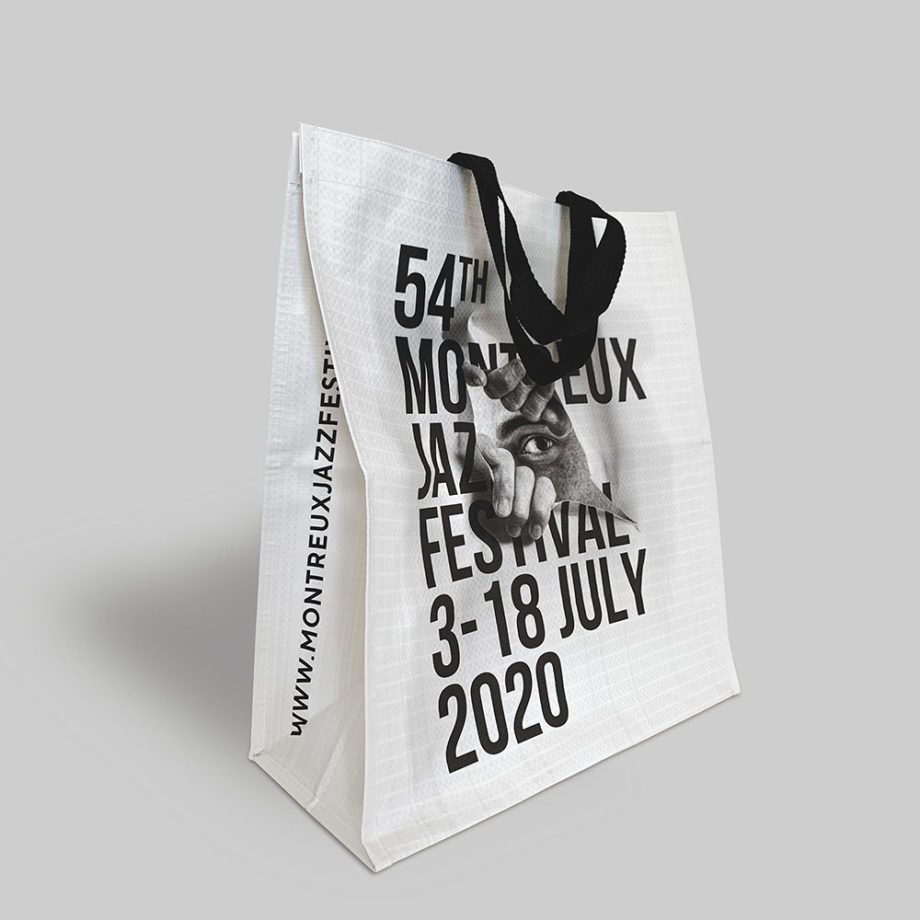 Shopping bag by JR Montreux Jazz Festival