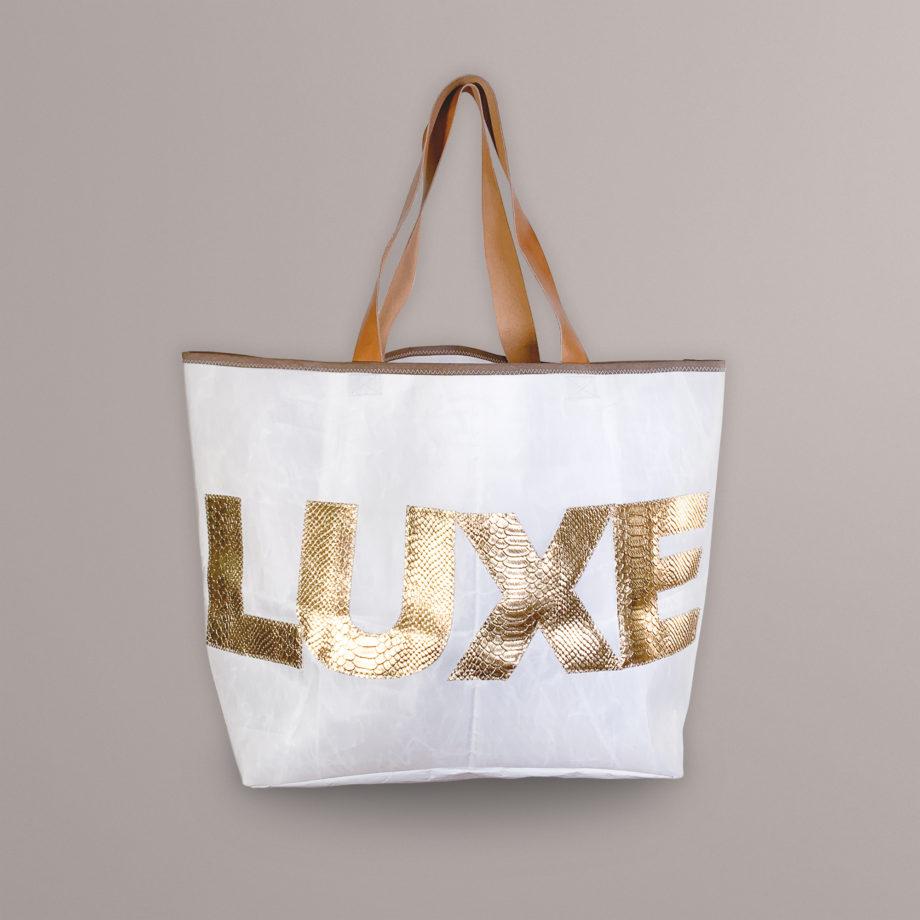 Sac Luxe Or en bâche de voile recyclé Jazz Montreux Festival