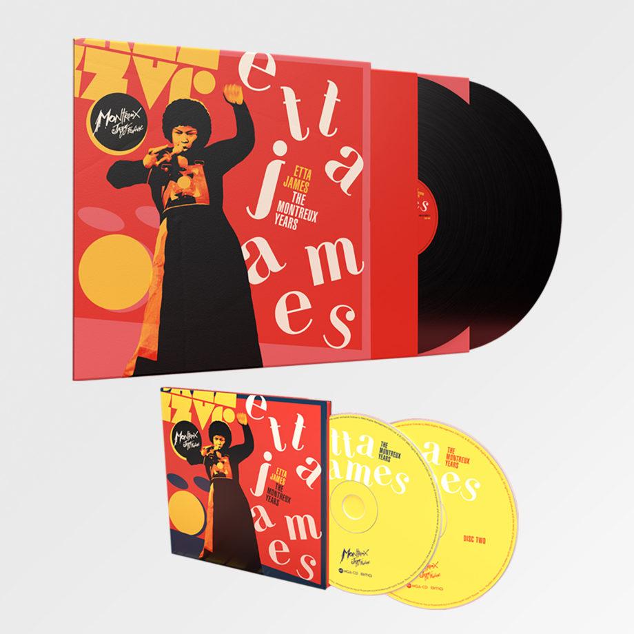 Etta James - The Montreux Years - Double CD Album + Double Vinyl