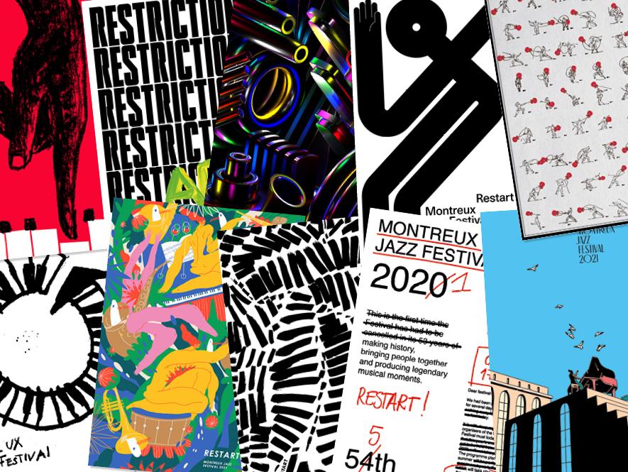 Affiche Restart Montreux Jazz Music Festival